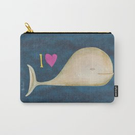 I love whales Carry-All Pouch