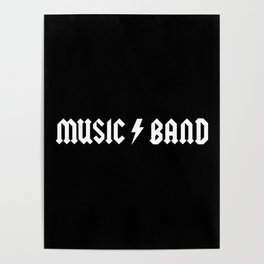 Generic Music Band Quote Poster
