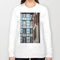 architecture Long Sleeve T-shirts featuring Basque architecture by MarioGuti