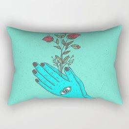 pray to nature. Rectangular Pillow