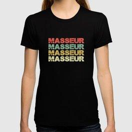 Masseur. Massage therapist gift T-shirt