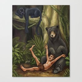 The Jungle Book Canvas Print