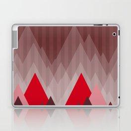 Triangular Mountain Range Laptop & iPad Skin