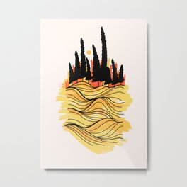 Sea forest Metal Print