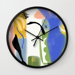 Ode to Matisse Wall Clock