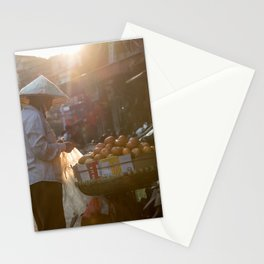 Vietnam Streets Stationery Cards