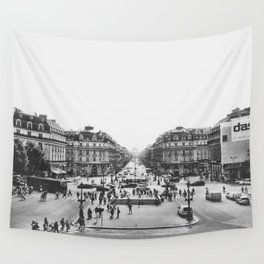 View of Paris Wall Tapestry