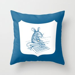 Cup O' Coffee NYC Style_rat Throw Pillow