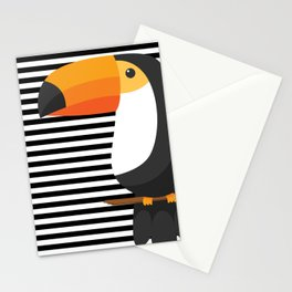 TOUCAN tropical toucans Stationery Cards