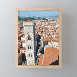 Giotto's Campanile in Florence Framed Mini Art Print
