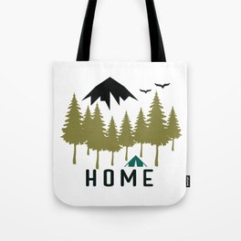 Wilderness Home Tote Bag