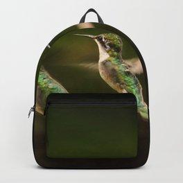 Humming Bird in Flight Backpack