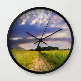 Summertime 61 Wall Clock