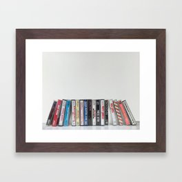 Full Tilt Cassettes Framed Art Print
