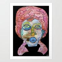 Stranger Portraits Art Print