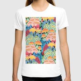 Fungi World (Mushroom world) - BKBG T-shirt