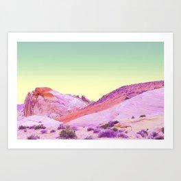 nº3 rainbow vista Art Print