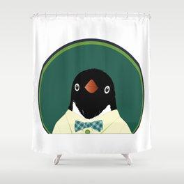Adelie Penguin Shower Curtain
