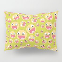 Happy Faces Pillow Sham