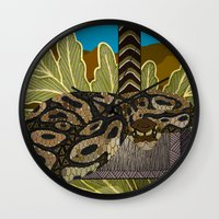 monty python Wall Clocks featuring Python - Thor by ArtLovePassion