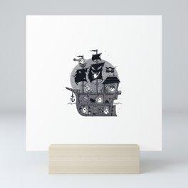Shipmates Mini Art Print