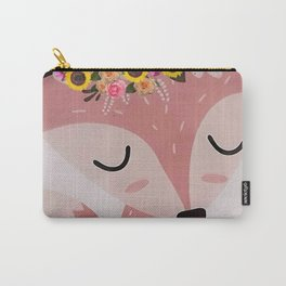 Easter Fox Carry-All Pouch