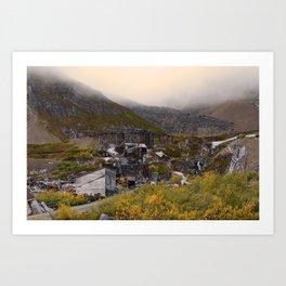 Independence_Mine - Hatcher_Pass, Alaska Art Print