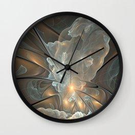 I had a dream, Abstract Fractal Art Wall Clock