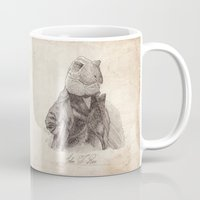 bouletcorp Mugs featuring John T. Rex by Bouletcorp