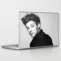 louis tomlinson Laptop & iPad Skins featuring Louis Tomlinson by D77 The DigArtisT