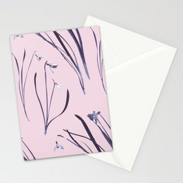 GALANTHUS IN CLASSIC ROSE Stationery Cards