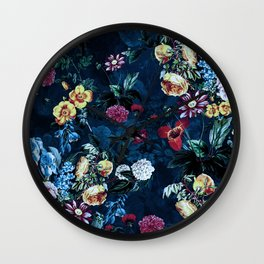 NIGHT GARDEN XVI Wall Clock