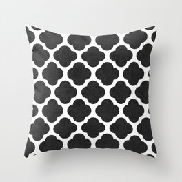 black clover Throw Pillow