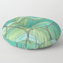 Sea Foam - Polluted Floor Pillow