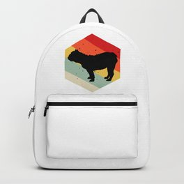 Pug design For Dog Lovers Cute Dog Backpack