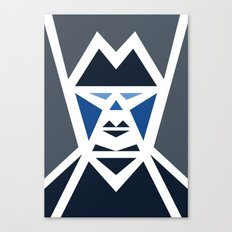 Five Triangle Faces - The Mafioso Canvas Print