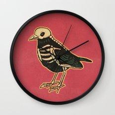 Dead Bird Wall Clock