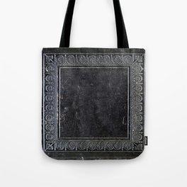 Black Antique Book Tote Bag