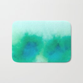 Green Blue Haze Bath Mat