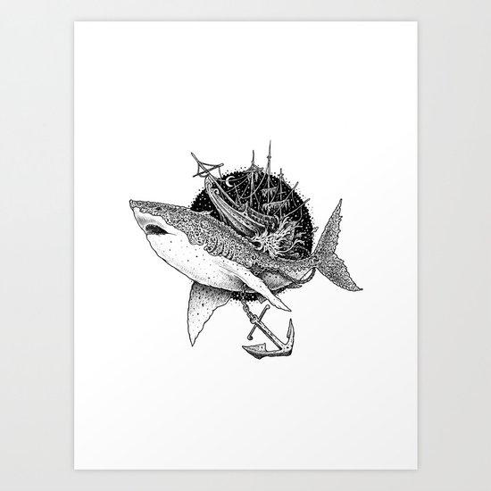 Shark of the Midnite Story by visothkakvei