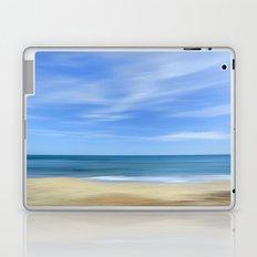 Blue sea...., blue sky. Sea dreams Laptop & iPad Skin