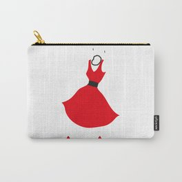 Little Red Dress Carry-All Pouch