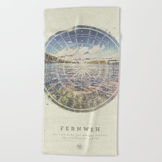 Fernweh Vol 1 Beach Towel