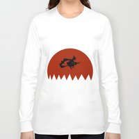 witch Long Sleeve T-shirts featuring Witch by Cs025