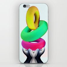 Dolphin Rings iPhone & iPod Skin