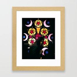 5 of Pentacles Framed Art Print