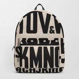 Squeezed Type Vintage Backpack