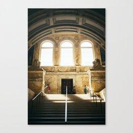 Boston Library  Canvas Print