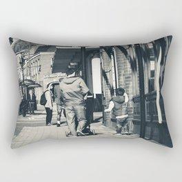 Father and Son Rectangular Pillow