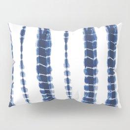 Indigo Blue Tie Dye Delight Pillow Sham